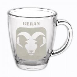 """Hrneček se znamením """"BERAN"""", varianta 1"""